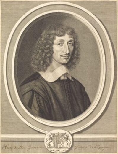 Robert Nanteuil after Philippe de Champaigne, 'Henri de Guenegaud', 1654