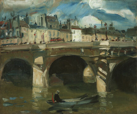 William James Glackens, 'The Seine', 1895