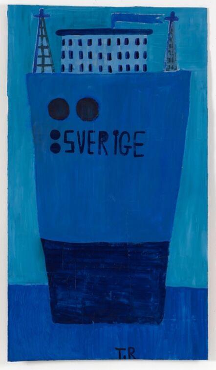 Tal R, ': a ship called Sweden', 2017