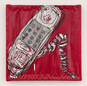 Lance Rautzhan, 'Untitled (Push-button Telephone)', 2021