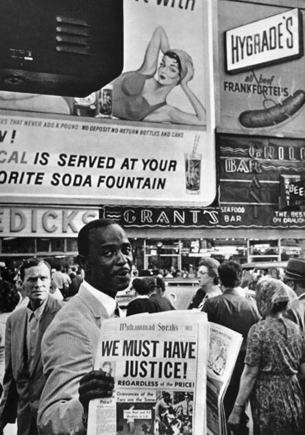 Leonard Freed, 'We Must Have Justice! NYC', 1963
