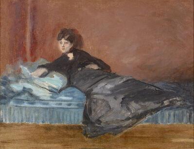 Édouard Manet, 'Berthe Morisot: Femme Allongée sur un Canapé', 1873