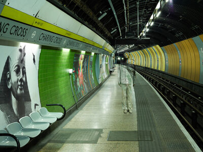 Liu Bolin, 'Hiding in London No. 2 - Charing Cross', 2014
