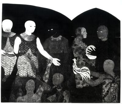 Belkis Ayón, 'Perfidia (Perfidy)', 1998