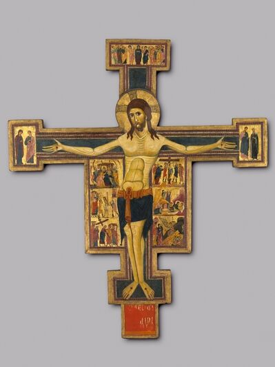 Italy, Pisa, 13th century, 'Crucifix with Scenes of the Passion', c. 1230-1240