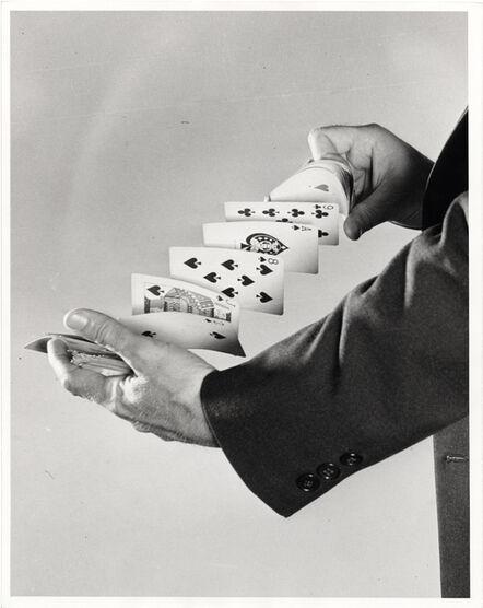 Harold Eugene Edgerton, 'Fanning the cards', 1940