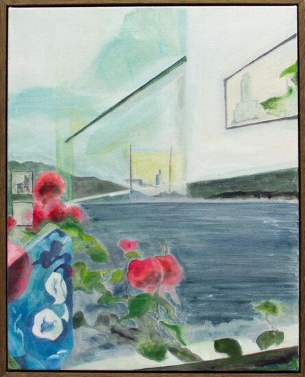 Danny Davidson (b. 1976), 'Reflection at Villa Le Lac', 2020