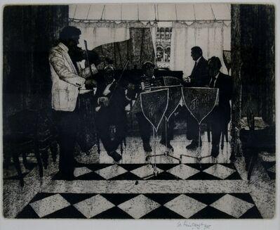 Wilfred Fairclough, 'Florian's, Venice', 1985