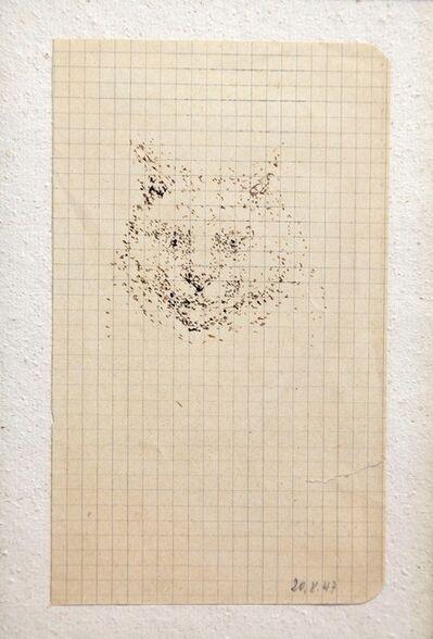 Balthus, 'Tête de chat', 1947