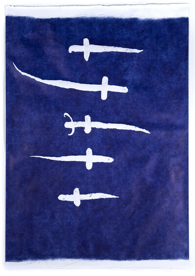 Jan Fabre, 'Swords, Crosses and Daggers 2', 1989