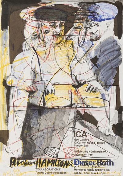 Richard Hamilton, 'Exhibition Posters 'Collaborations' (Lullin p.265)', 1977