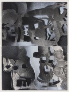 Barry Le Va, 'Munich-Africa', 1995
