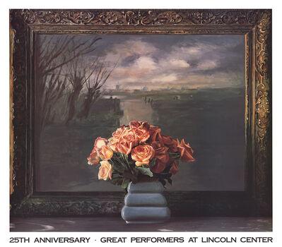 Ben Schonzeit, 'Roses with Dutch Landscape', 1990