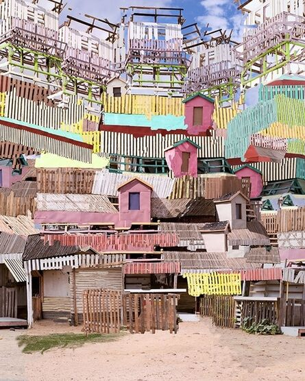 Nico Krijno, 'Untitled (Paarl Stacks)', 2015