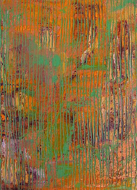 Frédéric Choisel, 'Composition in Green', ca. 2014