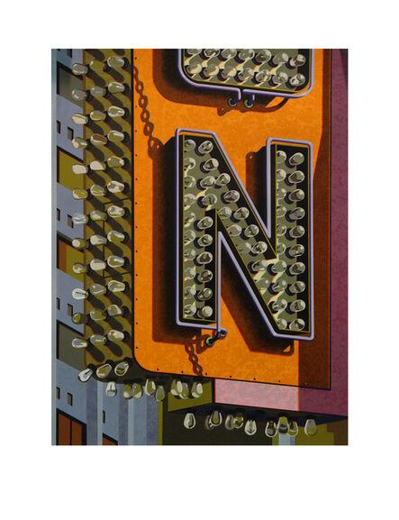 Robert Cottingham, 'An American Alphabet: N', 2012