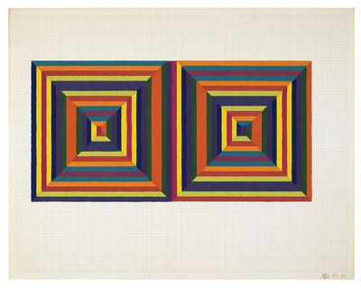 Frank Stella, 'Fortin de las Flores (First Version)', 1967