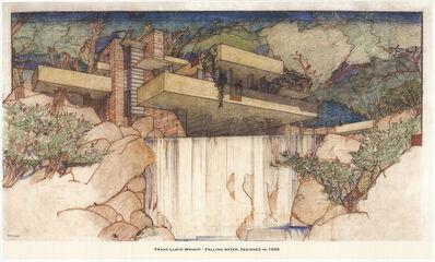 Frank Lloyd Wright, 'Falling Water', 1950
