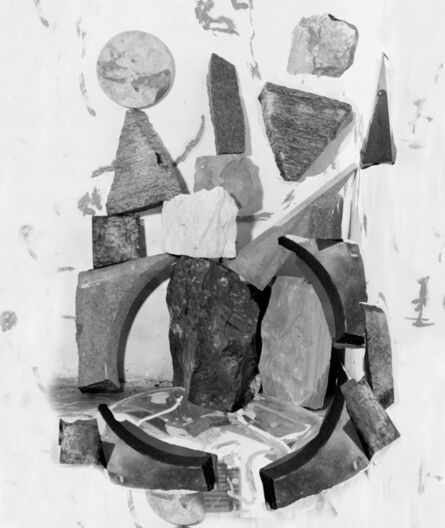 Nico Krijno, 'Bricolage with granite and marble', 2018