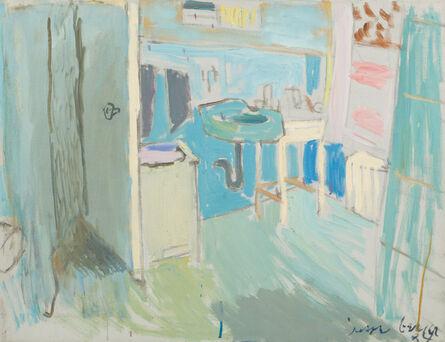 Jason Berger, 'Bathroom, Brookline', 1987