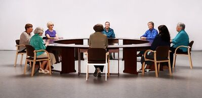Maj Hasager, 'Decembers - A Round Table Conversation (still)', 2012