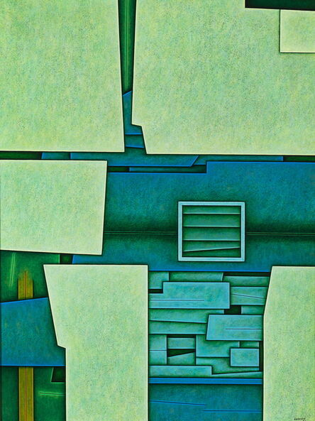 Gunther Gerzso, 'Universo (Universe)', 1986