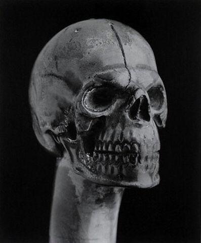 Robert Mapplethorpe, 'Skull walking cane', 1988