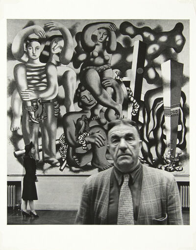 John Gutmann, 'Fernand Leger with Irene', 1940