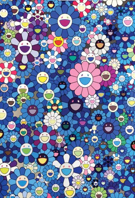 Takashi Murakami, 'An Homage to IKB 1957 B', 2012