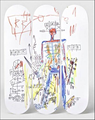 Jean-Michel Basquiat, 'ROBOT Triptych (Set of Three (3) Skateboards) ', 2017