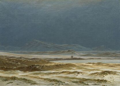 Caspar David Friedrich, 'Northern Landscape, Spring', ca. 1825