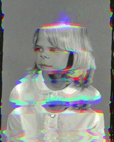 Sara Cwynar, 'Girl from Contact Sheet (Darkroom Manuals)', 2013