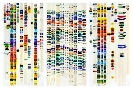 Jaq Chartier, 'Large chart (full spectrum)', 2015