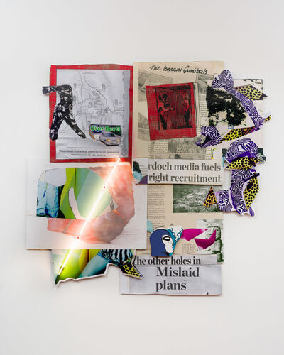 Brook Andrew, 'This year, mislaid plans...', 2020