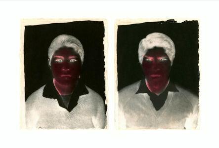 Milagros de la Torre, 'Under the black sun (Diptych, couple)', 1991-1993 (Vintage Print | Copia de época)