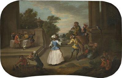 Christophe Huet, 'Singerie: The Dance', ca. 1739