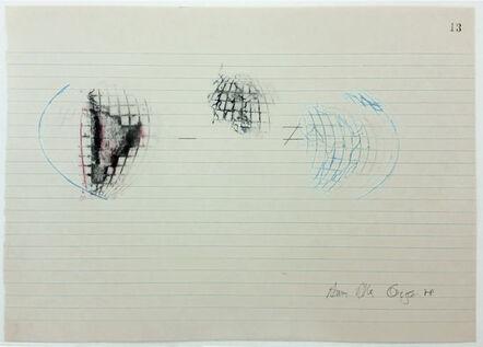 Anna Bella Geiger, 'Equações #13', 1978