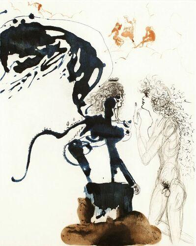 Salvador Dalí, 'Oedipus and Sphinx (Oedipe Et Le Sphinx) Mythology Suite ', 1963-1965