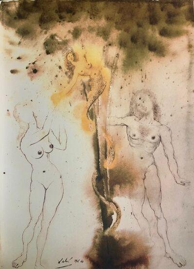 Salvador Dalí, 'Original Sin, 'Peccatum Originis', Biblia Sacra', 1967