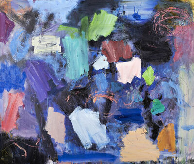 Scott Pattinson, 'Clyde House No 89 - large, bold, colourful, gestural, abstract, oil on canvas', 2015