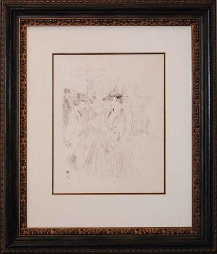Henri de Toulouse-Lautrec, 'Promenoir', ca. 1899