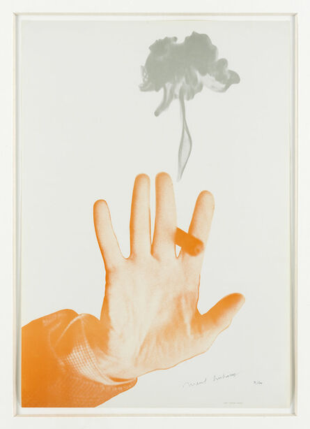 Marcel Duchamp, 'Poster for the 'Editions et sur Marcel Duchamp' (before the letters)', 1967