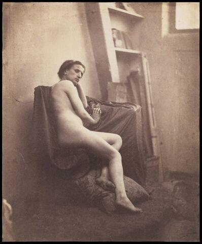 Frank Chauvassaignes, '[Female Nude in Studio]', 1856–1859