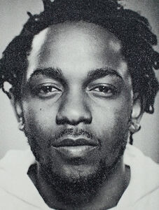Russell Young, 'Kendrick Lamar', 2018