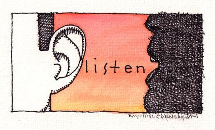 Ray-Mel Cornelius, 'Listen', 2020