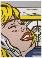 Roy Lichtenstein, 'Shipboard Girl', ca. 1980