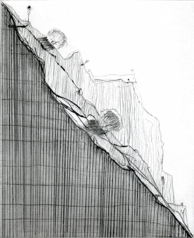 Wayne Thiebaud, 'Diagonal Ridge', 2011