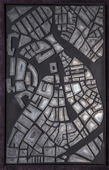 Peter Vanderwarker, 'Steel Map', 2017