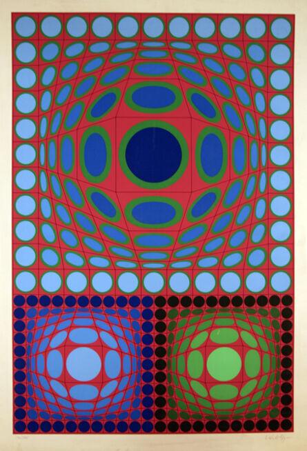 Victor Vasarely, 'Tri-Vega', 1970-1989