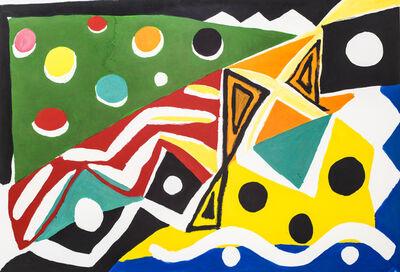Kim MacConnel, 'Antille', 1987